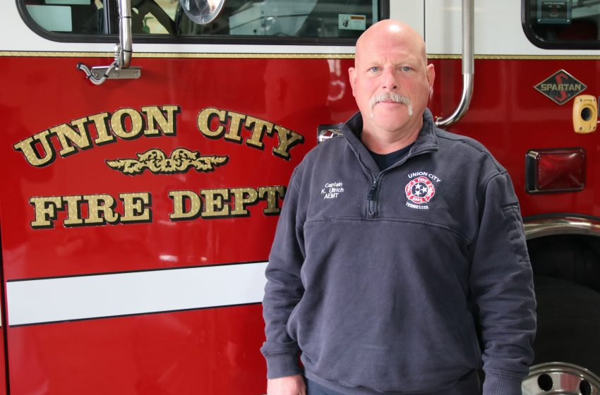 Karl Ullrich Named New Fire Chief for Union City
