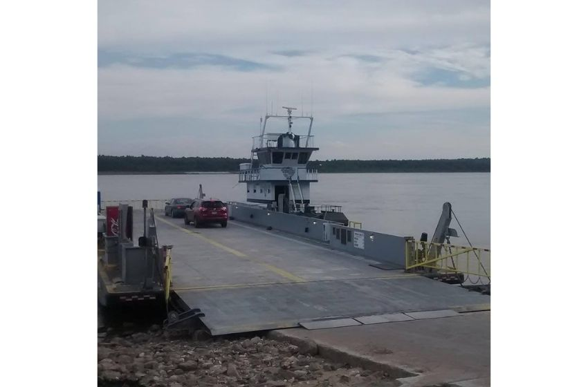 Dorena-Hickman Ferry temporarily closed due to high water