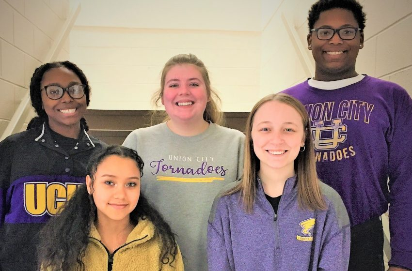 Union City High School Students Chosen to West Tennessee Honors Choir