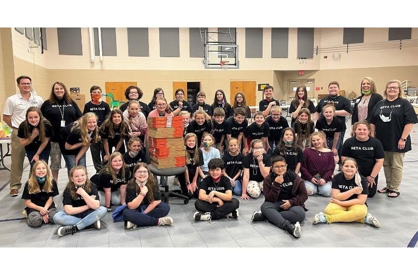 Martin Elementary brings Beta Convention hom