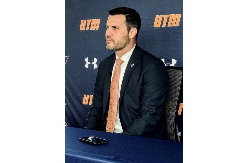 "Ridder ready to ""get to work"" with Skyhawks men's basketball team"