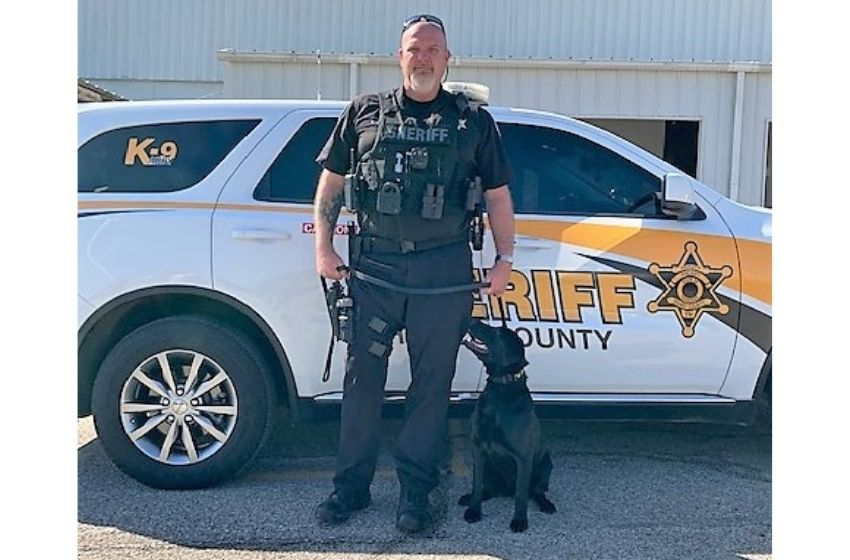 Henry County Sheriff's Office welcomes new K-9 Abby