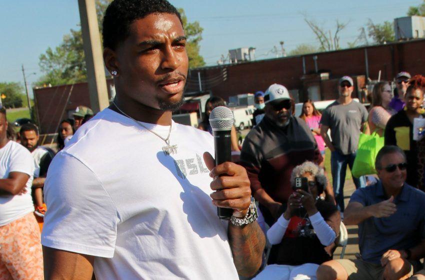 "Union City Proclaims ""Jovantae Moffatt Day"" During Sunday Block Party"
