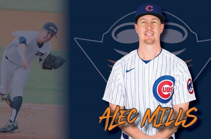 Skyhawk Baseball alum Alec Mills earns spot on Chicago Cubs Opening Day roster