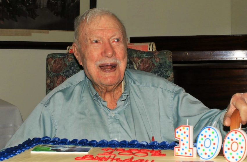Former Murray State Football Coach and Player Turns 100