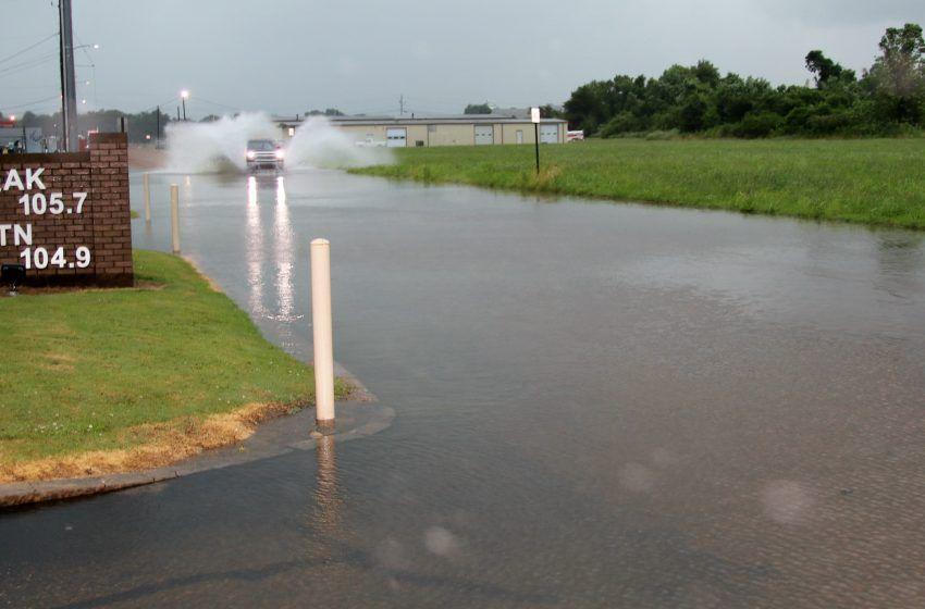 Heavy Rain Reported in the Area