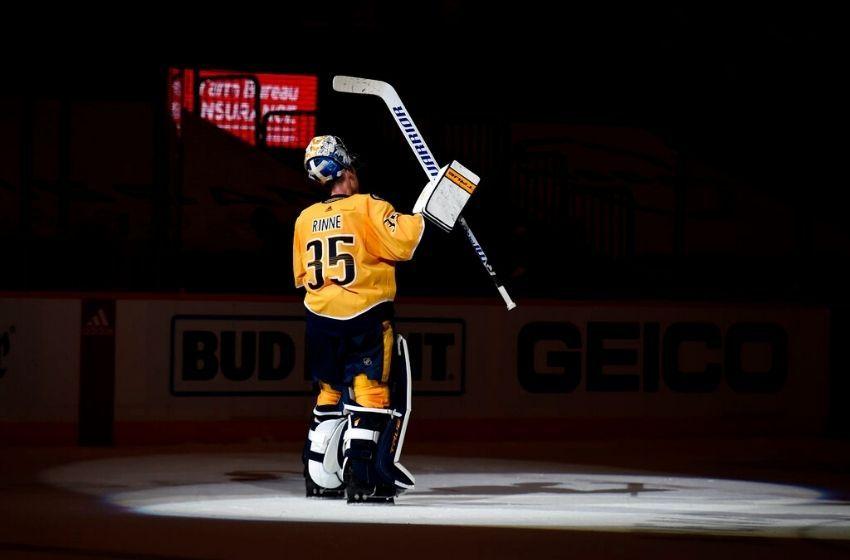 Predators goaltender Pekka Rinne retiring after 15 seasons