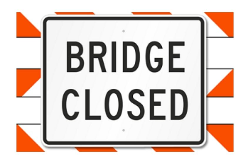 """Temporary closure on US 45 Ohio River """"Brookport"""" Bridge Thursday morning for sign and maintenance work"""