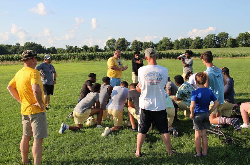 Fulton County Pilots Begin Football Practice