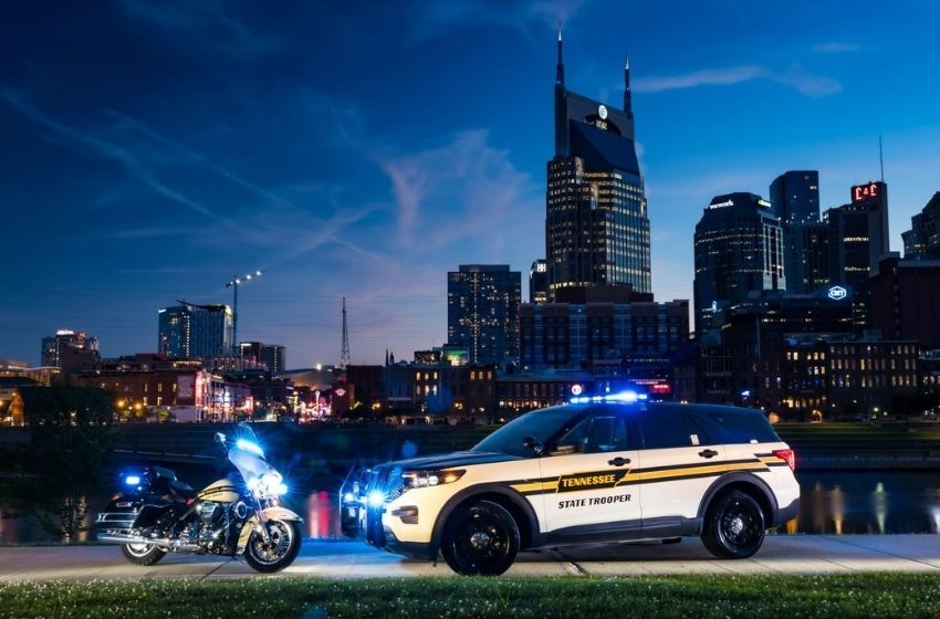 Tennessee Highway Patrol competes for Best-Looking Cruiser Award