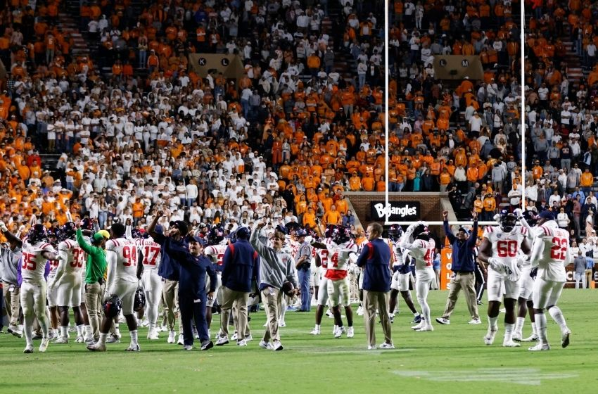 SEC fines Vols $250,000 for fans interrupting Ole Miss game
