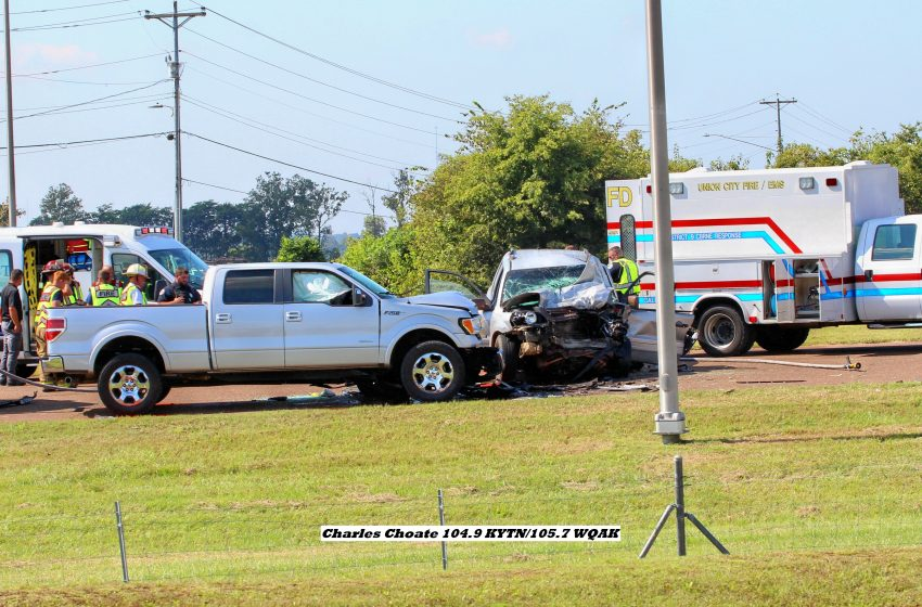 Two Vehicle Accident in Union City